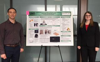 EE students win second place in SURE poster competitoin